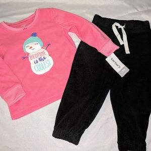Christmas pj set NWT sixe 18m